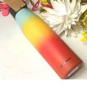 STARBUCKS 2019 Rainbow water  bottle 20oz.